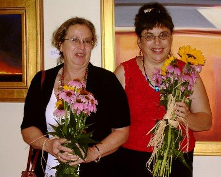 Denise Low(left) and Caryn Mirriam-Goldberg